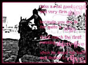 Discuss Fun Barrel Racing Pics/Poem at the Horse Chat forum - Horse ...