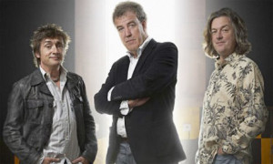 Top Gear presenters: Richard Hammond, Jeremy Clarkson and James May ...