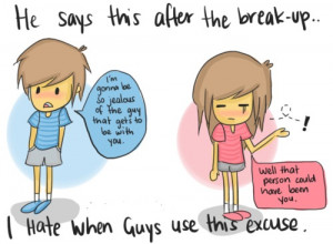 GIRLS HATE THIS WHEN BOYS SAY IT AFTER BREAKUP