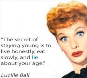 Live honestly, funny girl, Lucille