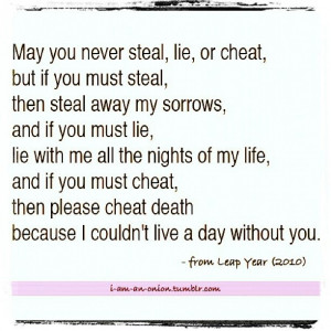 Leap year quote