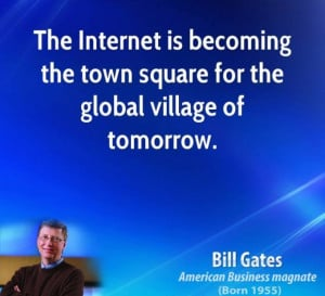 ... is becoming the twon square for the global quotes about village quotes