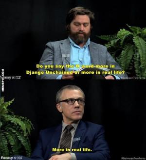 Christoph Waltz Interviewed By Zach Galifianakis On Between Two Ferns