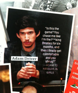 ... quotes from girls girls tv show quotes hbo adam driver on girls hbo