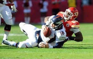 Broncos Chiefs Funny Denver broncos quarterback