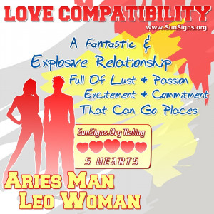 aries female and leo male sexuality