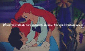 ariel, disney, love, perfection, shine, smile