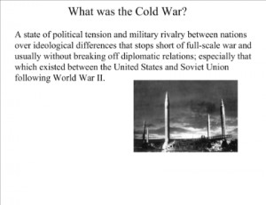 a paper on joseph mccarthy and the cold war Waving a sheet of paper in the air  while the link between american nationalism and religion grew much closer during the cold war  joseph mccarthy.