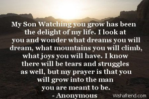 ... Quotes, Graduation Quotes For A Sons, Birthday For Sons Quotes, Quotes