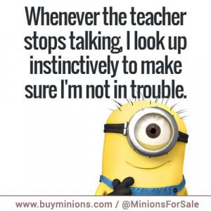 Minion School Quotes