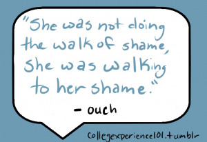 College Quotes Funny Credited