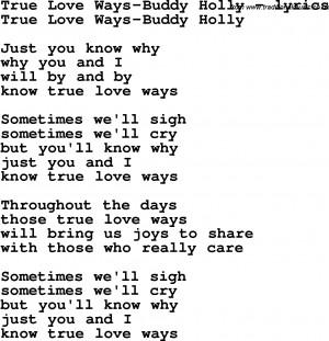 True Love Song