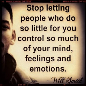 Stop letting people who do so little for you control so much of your ...