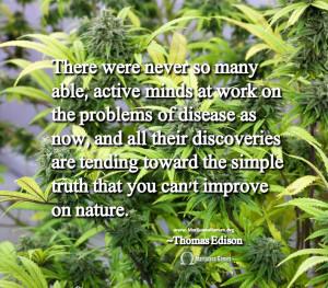 Quote about Marijuana by Thomas Edison