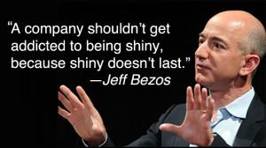 Amazon CEO Jeff Bezos Reports on Companies Progress in 2014