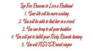 Top 5 Reasons to Love a Redhead photo redheadlove.jpg