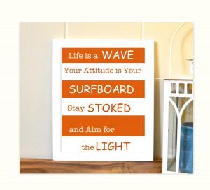 boy room art inspirational quotes for boys surfer boy inspirational ...