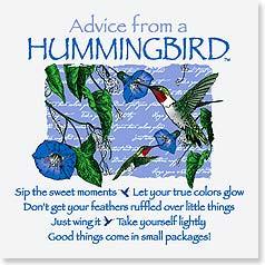 Hummingbird Sayings
