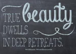 True Beauty Quote -