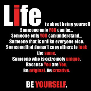 Be Yourself Quotes for Your