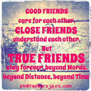 friendship #quotes #pinkrackproject