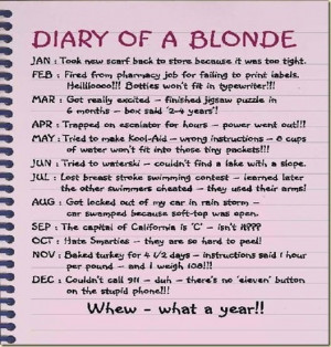 logically hope blondes mad ive friends thinking effected blondness lol