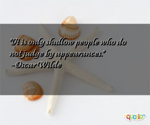 quotes about shallow people