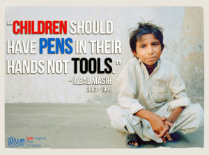 Iqbal Masih Child Labor