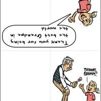 Funny Cartoon Get Well Soon Card