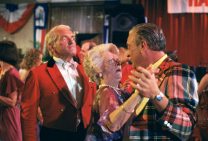 Ted Knight, Lois Kibbee, and Rodney Dangerfield