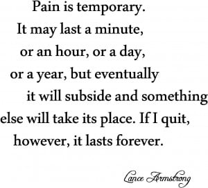 Pain Is Temporary   Motivational Video