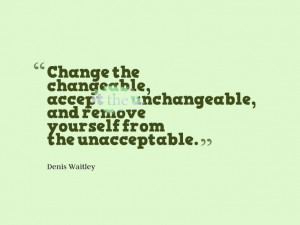Quote about changes and improvement
