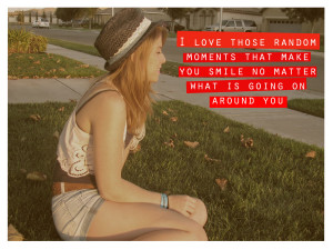 cute, girl, love, photography, quote