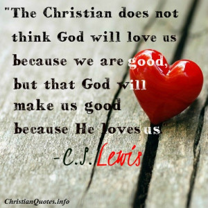 Lewis Quote – Christian Love