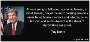 More Roy Blunt Quotes