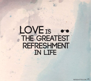 John Lennon Quotes Love is the greatest refreshment in life John ...