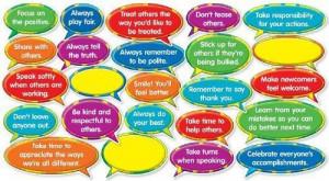 Good Character Quotes Mini Bulletin Board Display Set Classroom ...