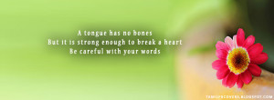 but it is strong enough - Life quotes FB Cover My India FB Covers