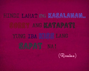 Love Quotes Tagalog Patama