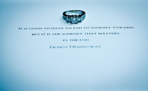 Our invitations with my engagement ring! : wedding creative engagement ...