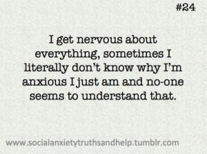 Social Anxiety Tumblr...