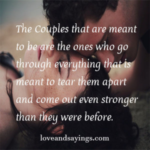 Couples That Are Meant to Be Quotes