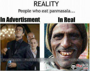 Pan masala funny indian tv commercials and real life funny pics which ...