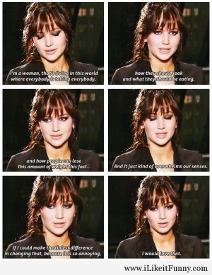 Jennifer Lawrence – tv quotes
