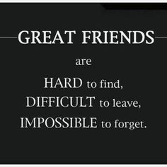 ... about my best friend who just moved away. I hope she comes back! More