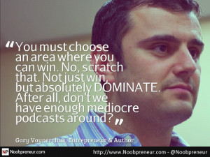 Gary Vee quote on video podcasting