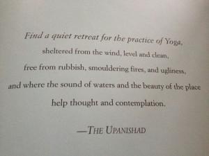 Yoga pose quote
