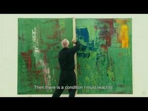 Vídeo: Gerhard Richter pintando en su taller