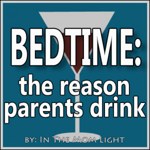 ... relate to this blog post about the bedtime chaos... funny stuff