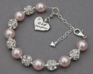 Goddaughter Gift, Goddaughter Jewel ry, Goddaughter Charm Bracelet ...